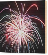 4th Of July Fireworks 8 Wood Print