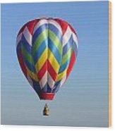 Multi-color Balloon Wood Print