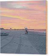 Multi Color Skies - Cape May New Jersey Wood Print