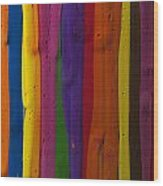 Multicolored Paint Can  Wood Print