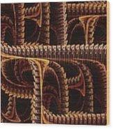 Multidimensional Passages Wood Print