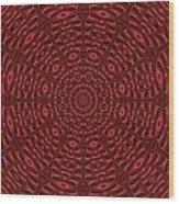 Multiplicity Mandala 16x9 Wood Print