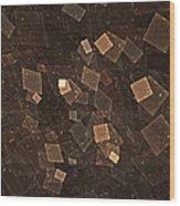 Multiverse Wood Print