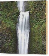 Multnoma Falls II Wood Print