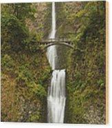 Multnomah Falls 2 A Wood Print