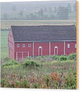 Mummasburg Road Farm 2706 Wood Print