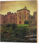 Muncaster Castle Wood Print