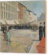 Munch Musik, 1889 Wood Print