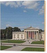 Munich Koenigsplatz Wood Print