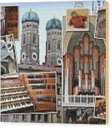 Munich Liebfrau Wood Print