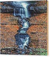 Munising Falls I Wood Print