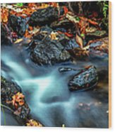 Munising Falls IIi Wood Print