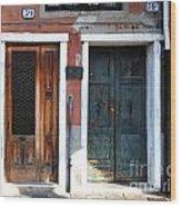 Murano Doors Wood Print