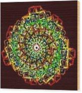 Murano Glass - Red Wood Print