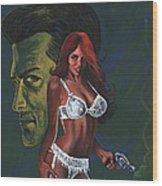 Murder By Scarlett Wood Print