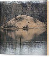 Murder Island Wood Print