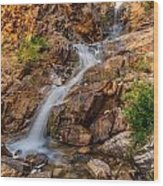 Murdock Basin Falls 2 Wood Print