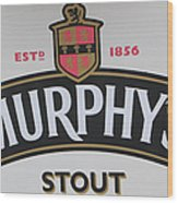 Murphy's Stout Wood Print
