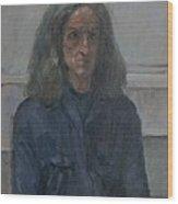 Murray, 2008 Oil On Canvas Wood Print
