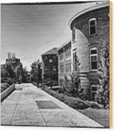 Murrow Complex East - Washington State University Wood Print