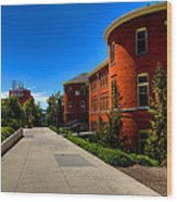 Murrow Hall - Washington State University Wood Print