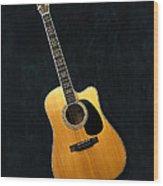 Muscial Memories II Wood Print by Tamyra Ayles
