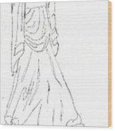 Terpsichore Muse Of Dance Wood Print