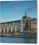 Musee D'orsay Evening Wood Print