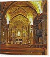 Musee Franciscain Et Monastere De Cimiez Wood Print