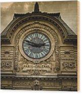 Musee Orsay Wood Print