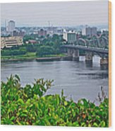 Museum Of Civilization Across The Ottawa River In Gatineau-qc Wood Print