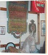 Museum Pieces Wood Print