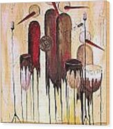 Music 740 - Marucii Wood Print