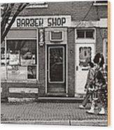 Music - Bag Piper - Somerville Nj -  The Scottsman Wood Print