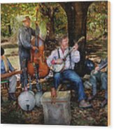 Music Band - The Bands Back Together Again  Wood Print