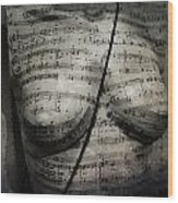 Music Chest  Wood Print