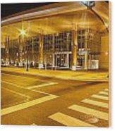Music City Center Wood Print