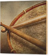 Music - Drum - Cadence  Wood Print