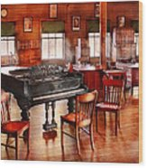 Music - Piano - The Grand Piano Wood Print