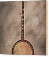Music - String - Banjo  Wood Print by Mike Savad
