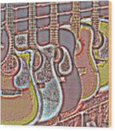 Music Time 4 Wood Print