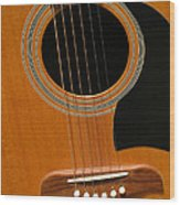 Musical Abstraction Wood Print