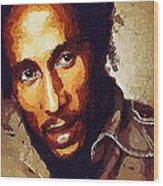 Rastafari Wood Print