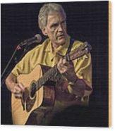 Musician And Songwriter Verlon Thompson Wood Print