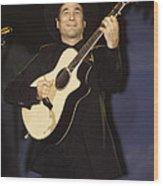 Musician Clint Black  Wood Print