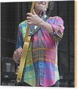 Musician Gary Lewis Wood Print
