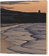 Mussenden Sunset Wood Print