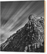 Mussenden Temple - On The Edge Wood Print