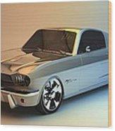 Mustang 66 Wood Print