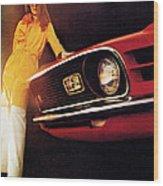 Mustang '70 Wood Print